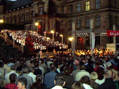 Dresden singt und musiziert ? zukünftig leider weniger