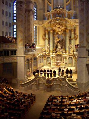 Sacred Bridges - das Konzert der King's Singers in der Frauenkirche