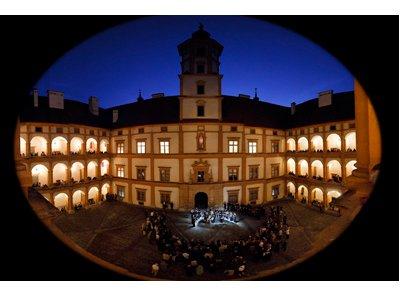 Fest zu Eggenberg: Schlosshof