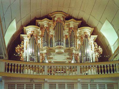 Wenderorgel der Johann Sebastian Bach Kirche