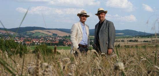 Die Festivalmacher Adrian Adlam und Utz Köster