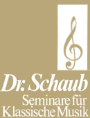 Informationen zu Seminare für Klassische Musik Dr. Schaub