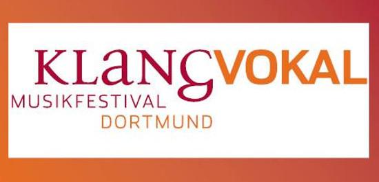 Logo KLANGVOKAL Musikfestival Dortmund