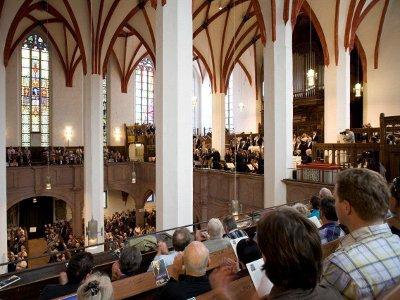 Bachs Hauptwirkungsstätte: Bachfest-Konzert in der Thomaskirche