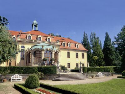 Ansicht Schloß Proschwitz vom Franzsösischen Gartenparterre